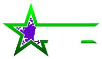 small greenstar glass logo colored