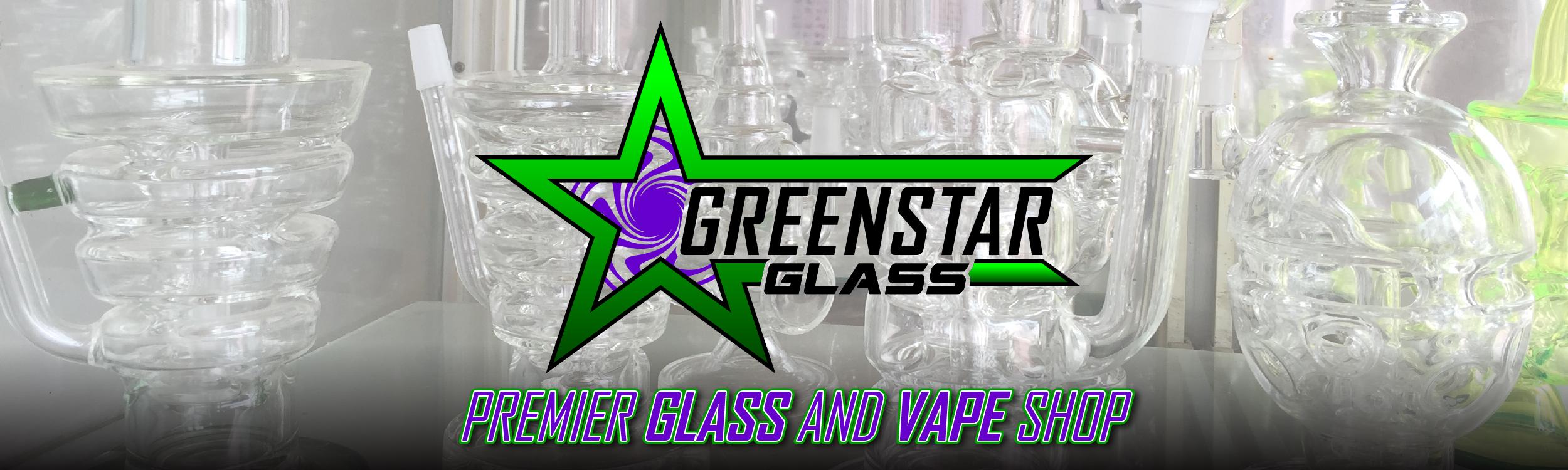 Greenstar Glass and Vape Shop Banner | Council Bluffs CBD