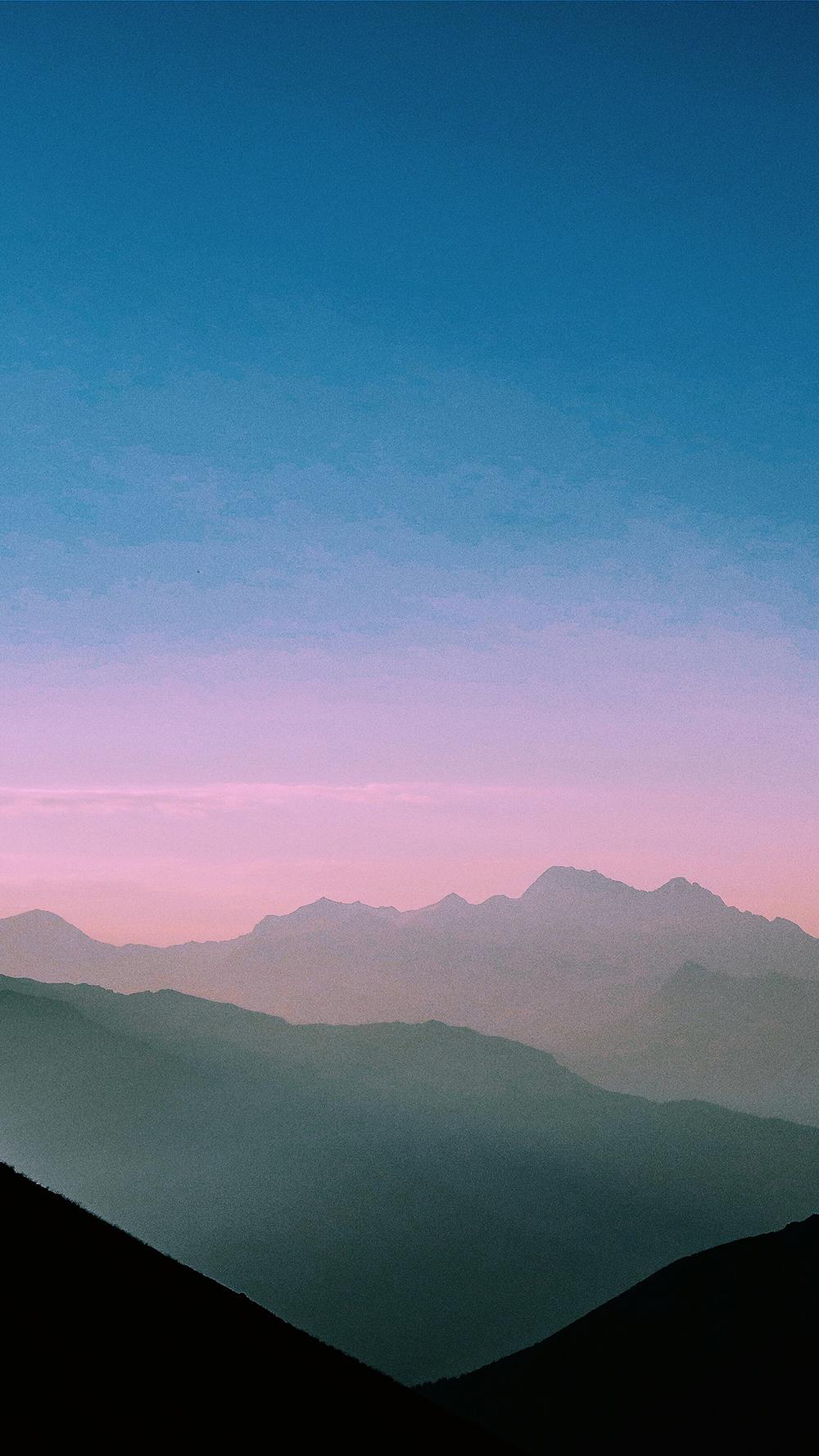 CBD for Stress - Calming mountains